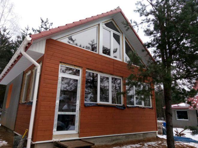 Установка пластиковых окон и дверей в частном доме
